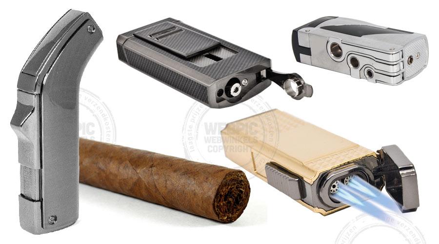 sigarenaansteker met turbovlam