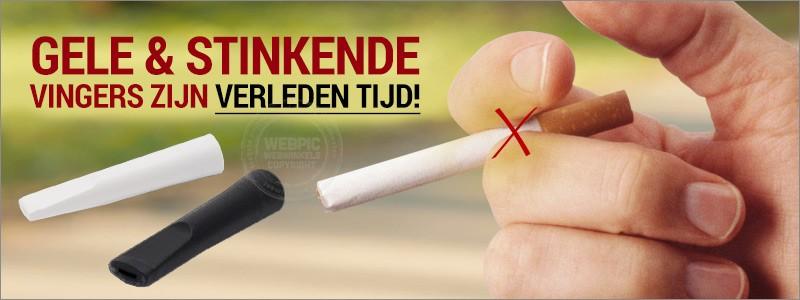 Oplossing: Stinkende en gele vingers bij sigaret roken