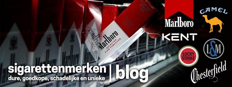 Sigarettenmerken Nederland op een rij